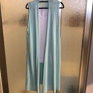 Lularoe Joy Layering Vest